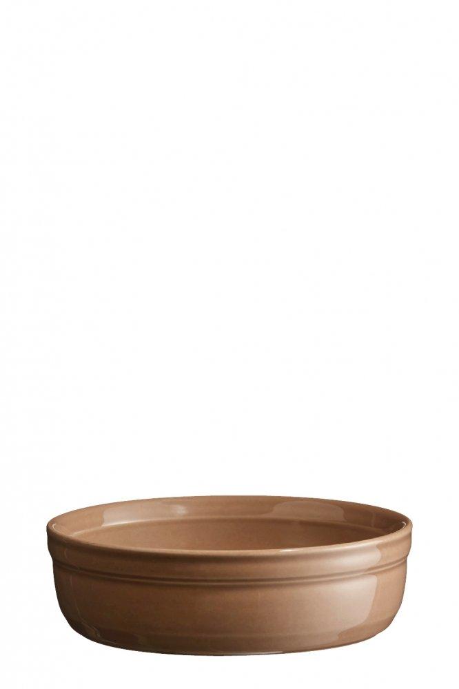 Рамекин, низкая порционная форма Emile Henry 12 см (цвет: мускат)