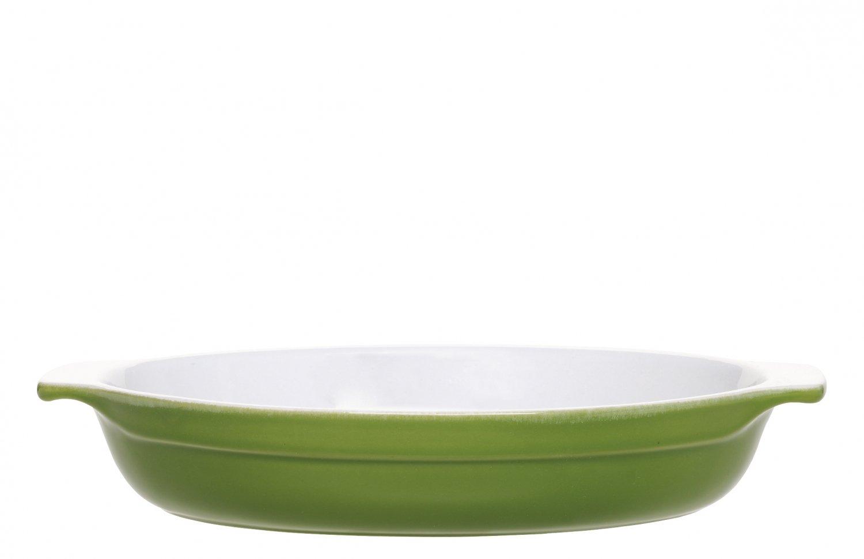 Форма для запекания овальная 33,5х23 см (цвет: оливковый) Emile Henry