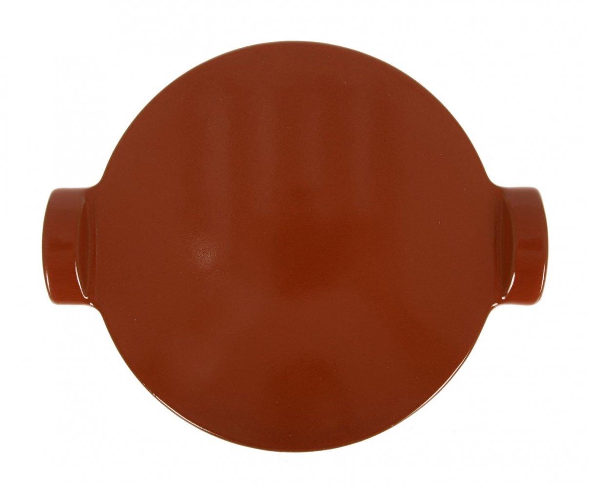 Блюдо для пиццы 30 см (цвет: красный) Emile Henry
