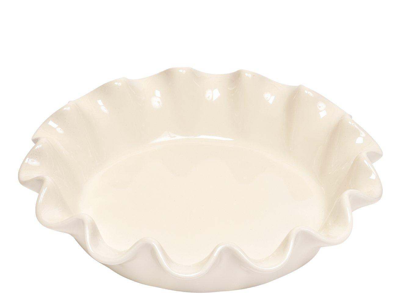 Форма для фруктового пирога Emile Henry 26,5 см (цвет: крем)