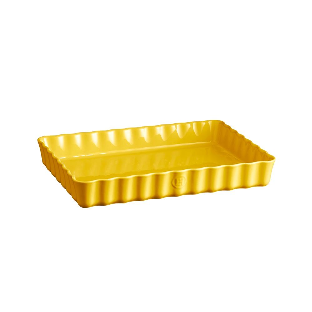 Форма для пирога прямоугольная 24х34 см Emile Henry (цвет: прованс)