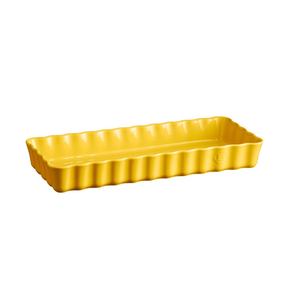 Форма для пирога 36,5х15х5 см Slim Emile Henry прямоугольная цвет: прованс