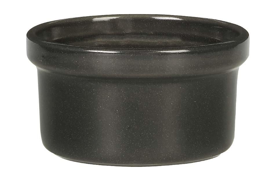 Рамекин, форма для суфле Emile Henry 9,5 см (цвет: базальт)