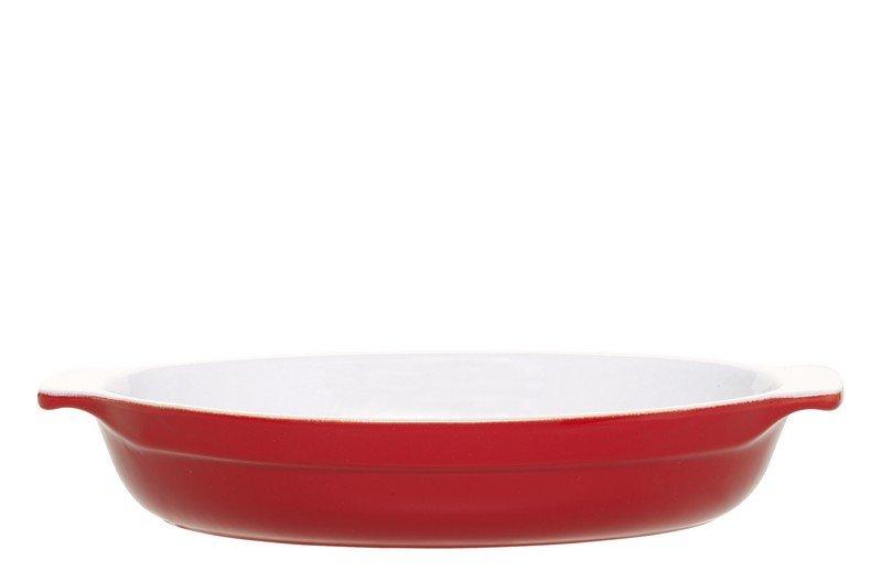 Форма для запекания овальная 33,5х23 см (цвет: красный) Emile Henry