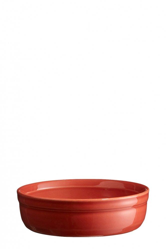 Рамекин, низкая порционная форма Emile Henry 12 см (цвет: терракот)