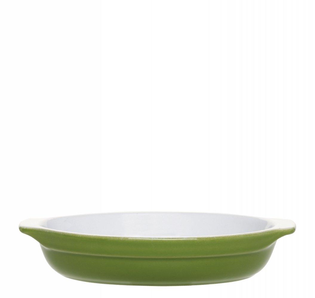 Форма для запекания овальная 27х18 см (цвет: оливковый) Emile Henry