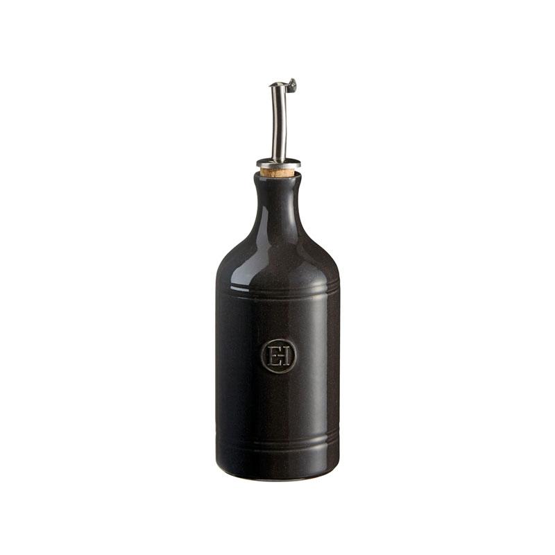 Бутылка для масла и уксуса Emile Henry базальт