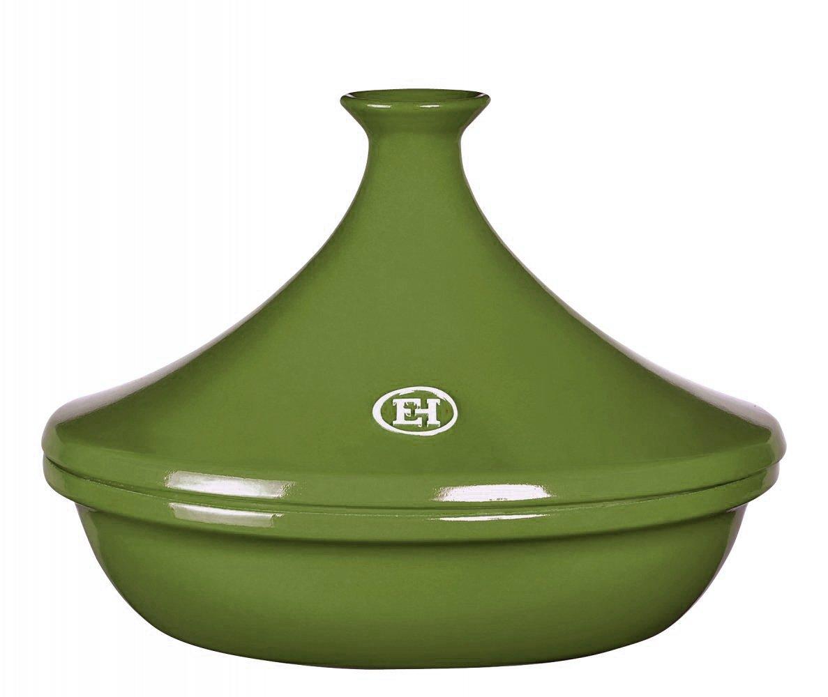 Тажин 3 литра, 32 см Emile Henry керамический, цвет: лавровый лист