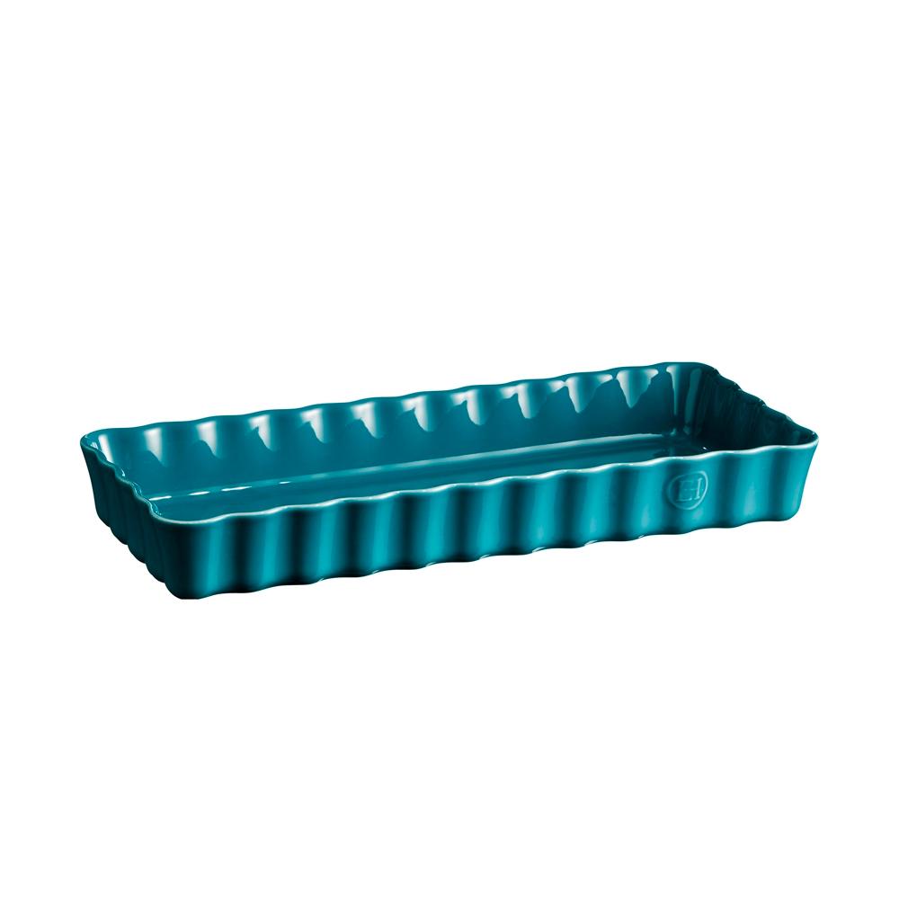 Форма для пирога 36,5х15х5 см Slim Emile Henry прямоугольная цвет: лазурь