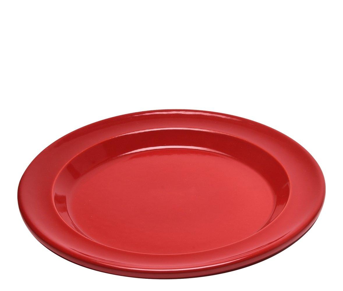 Тарелка обеденная 28см (цвет: гранат) Emile Henry