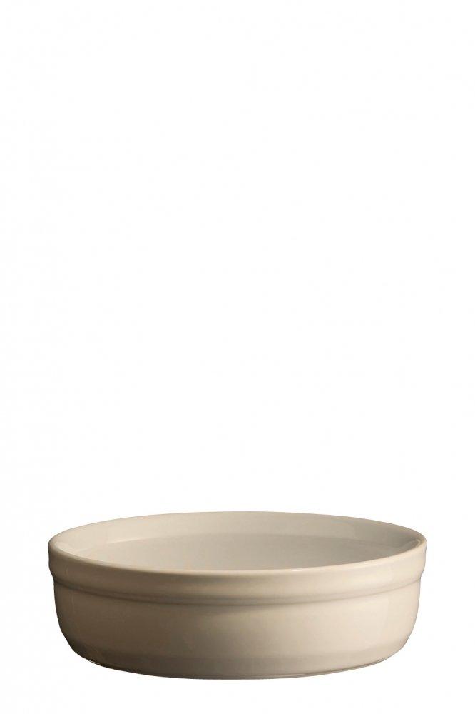 Рамекин, низкая порционная форма Emile Henry 12 см (цвет: крем)