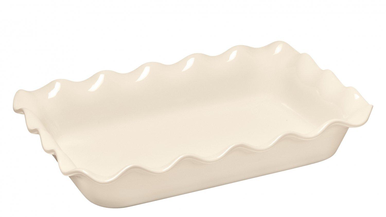 Форма для запекания прямоугольная 36x26 см (цвет: крем) Emile Henry